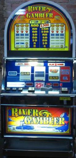 River Gambler slot machine by IGT